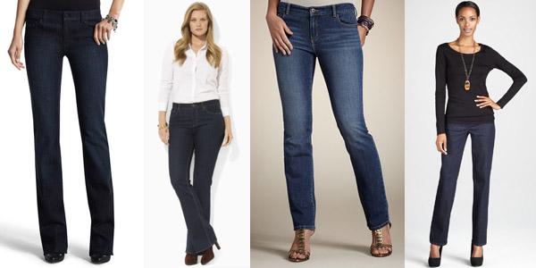 Как выбрать джинсы по типу фигуры?